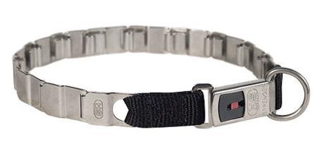 19 inch STAINLESS STEEL Sprenger dog collar NECK TECH COLLAR for Rottweiler