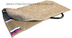 cover made of jute with handle