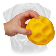 Honeycomb Treat Dispensing Dog Tetraflex Ball - 5 inch ( 13cm ) for Large Breeds