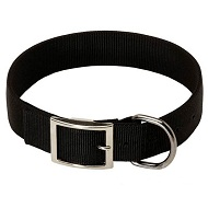 1 1/5 inch Nylon Dog Collar for Rottweiler