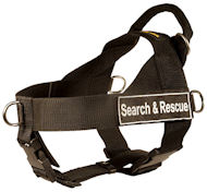 SAR Best Nylon Dog Harness -Designer Multitasking Rottweiler Harness