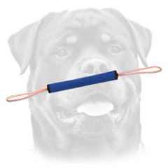 Rottweiler professional training roll with two     handles
