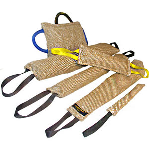 Pitbull Training supplies jute bite tugs set