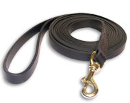 stitched dog leash 6 foot – 180cm Leather Lead