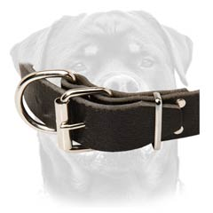 Hot sale leather dog collar