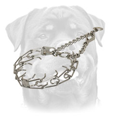 Rottweiler Collar with swivel and 2 O-rings