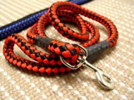 Cord nylon dog leash for large dogs- dog lead