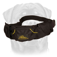 Rottweiler Training Dog Pouch
