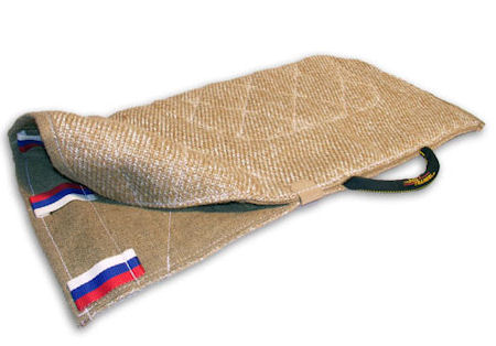 Comfortable jute cover for dog bite sleeves