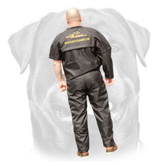 Protection scratch pants and jacket for Rottweiler training