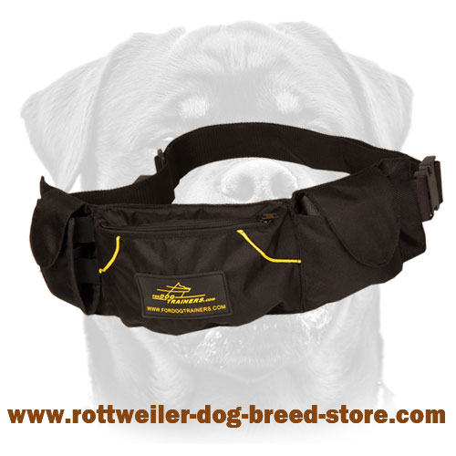 'Swift Reward' Dog Training Pouch for Toys and Treats for Rottweiler