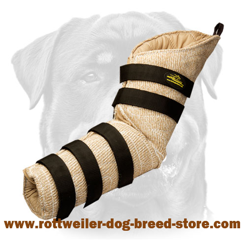 Dog Hidden Protection Bite Sleeve Made of Jute