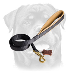 Training Nylon Dog Leash With Padded Handle For Rottweiler