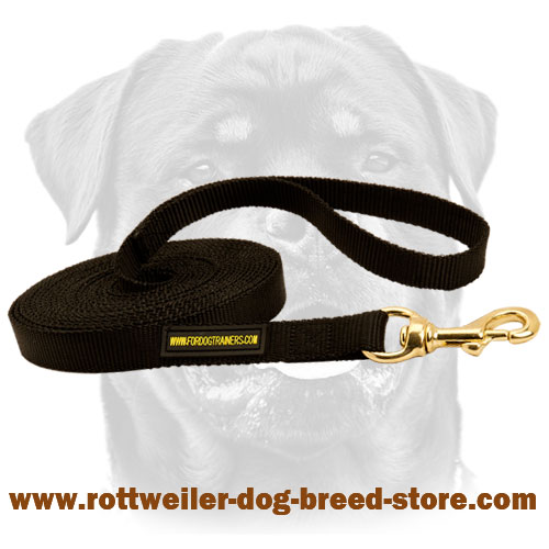 Professional Nylon Dog Leash for Rottweiler Breed
