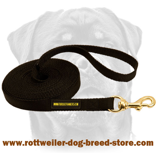Training Nylon Canine Leash for Rottweilers