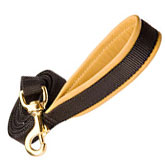 Very comfortable walking dog leash 4 Foot 3/4 inch