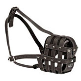 Light weight ventilation Rottweiler muzzle