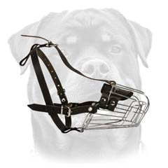 Excellent wire cage dog muzzle
