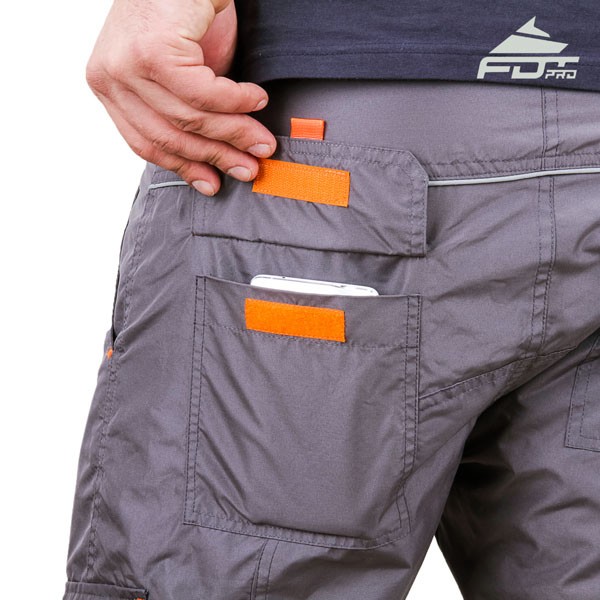 Comfy Design Pro Pants with Strong Side Pockets for Dog Trainers