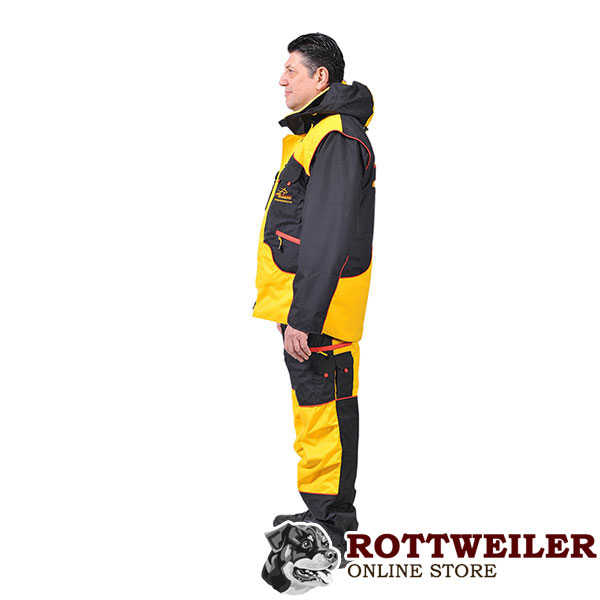 Perfect in Convenience and Protection Dog Bite Suit for Safe Training