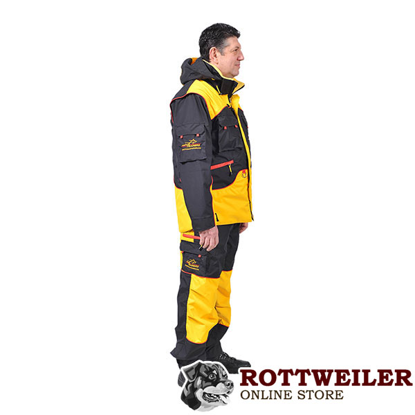 Convenient Dog Training Bite Suit with Several Pockets