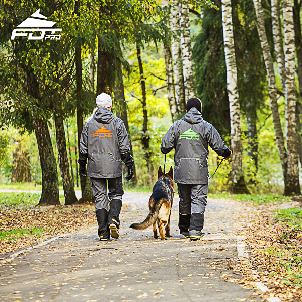 Professional Dog Training Jacket of Finest Quality for Any Weather Use