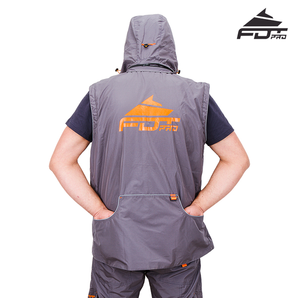 Best quality Dog Trainer Suit Grey Color from FDT Pro