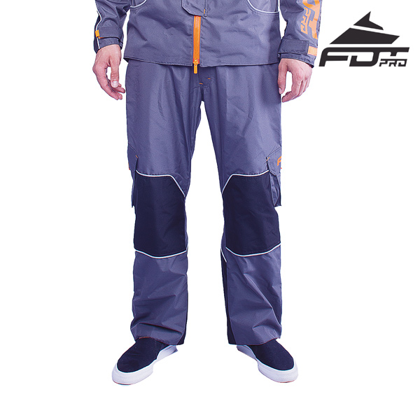 Professional Pants Grey Color for Cold Seasons