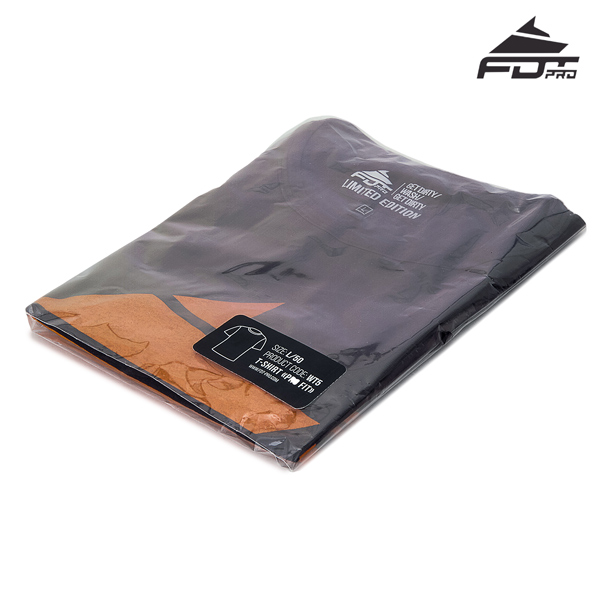 Prepacked Pro T-shirt Dark Grey Color
