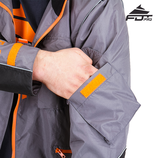 Reliable Sleeve Pocket on Pro Design Dog Trainer Jacket
