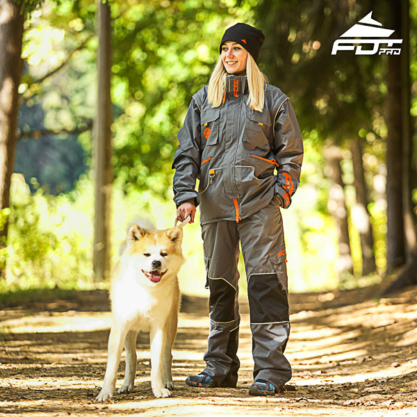 Men / Women Design Dog Tracking Jacket of Best Quality Materials