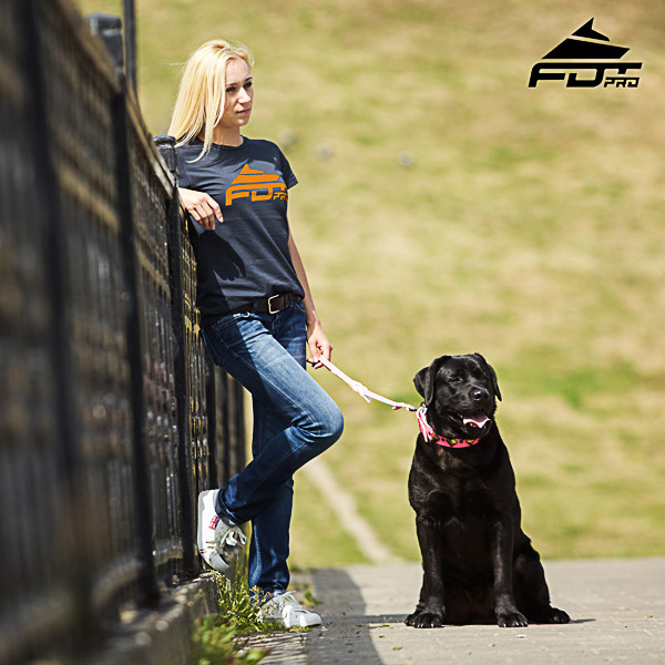 Dog Trainers Women T-shirt of Finest Quality Cotton