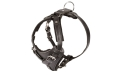 Black Leather Dog Harness