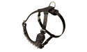 Spiked Leather Dog Harness